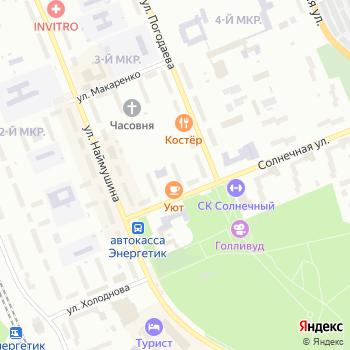 Банк Уралсиб на Яндекс.Картах