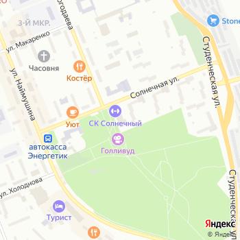 Солнечный на Яндекс.Картах