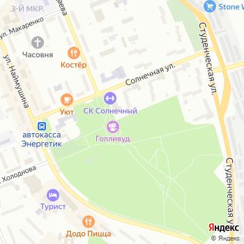 Парк культуры и отдыха муниципального образования г. Братска на Яндекс.Картах