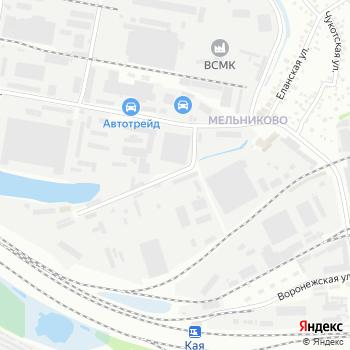 Байкал-Шина на Яндекс.Картах