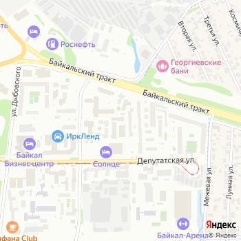 Аварийно-спасательная служба Иркутской области на Яндекс.Картах
