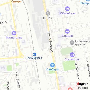 Почта с индексом 692510 на Яндекс.Картах
