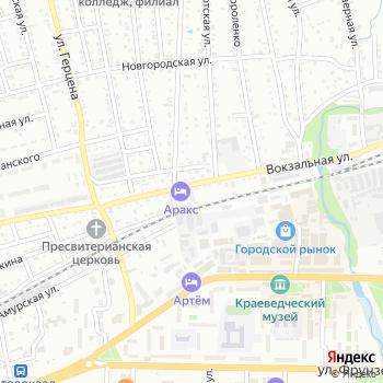 Аракс на Яндекс.Картах