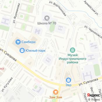 Электрон на Яндекс.Картах