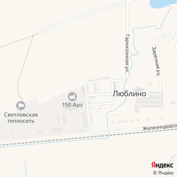 Почта с индексом 238347 на Яндекс.Картах