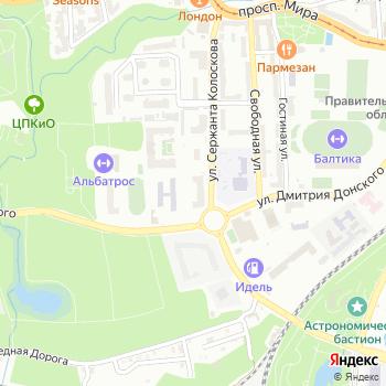 ИСТО на Яндекс.Картах
