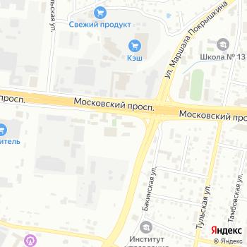 Банный комплекс на Яндекс.Картах