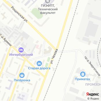 Гатчинский на Яндекс.Картах
