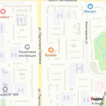 Почта с индексом 198205 на Яндекс.Картах