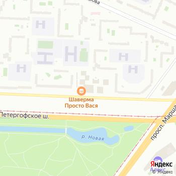 Почта с индексом 198330 на Яндекс.Картах