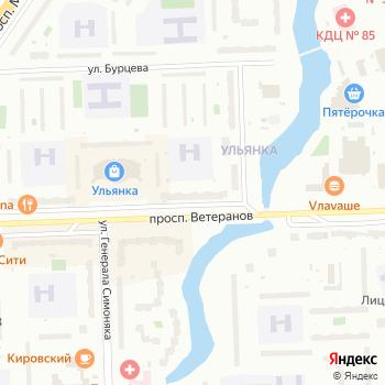 Почта с индексом 198261 на Яндекс.Картах