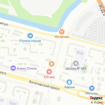 Медовый месяц на Яндекс.Картах