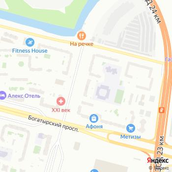 Приморский на Яндекс.Картах