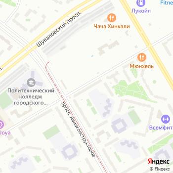 Петербург на Яндекс.Картах