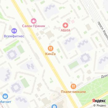 Наследник на Яндекс.Картах