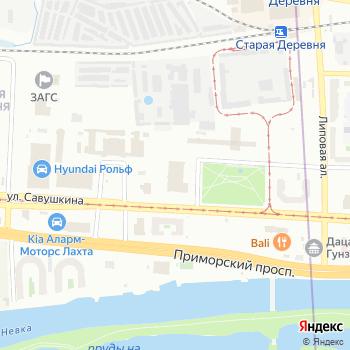Антарес на Яндекс.Картах