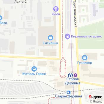 Орбита СПб на Яндекс.Картах