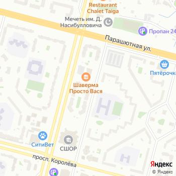 Velocita на Яндекс.Картах