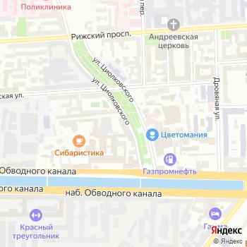 Городской центр оценки на Яндекс.Картах
