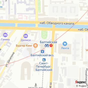 Балт-Юнион на Яндекс.Картах