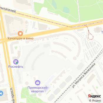 Приморская продуктовая компания на Яндекс.Картах