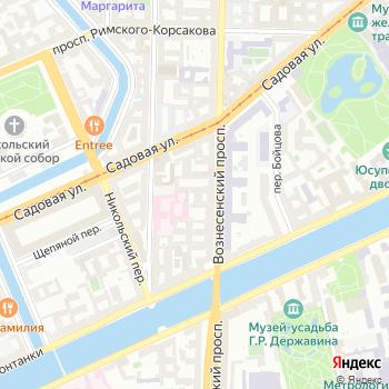 Почта с индексом 190068 на Яндекс.Картах