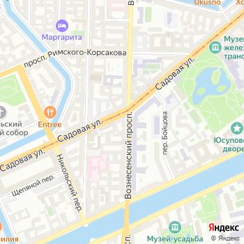 СНГ-Экспорт на Яндекс.Картах