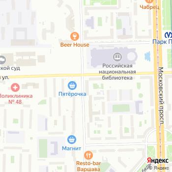 Продуктовый магазин на Варшавской на Яндекс.Картах