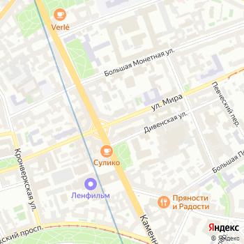 ГУССТ №3 при Спецстрое России на Яндекс.Картах