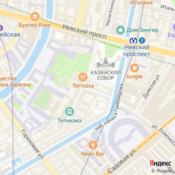 Почта с индексом 191186 на Яндекс.Картах