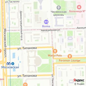 Бистро на Типанова на Яндекс.Картах