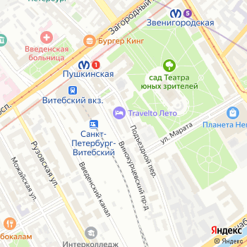 Аменто ру на Яндекс.Картах