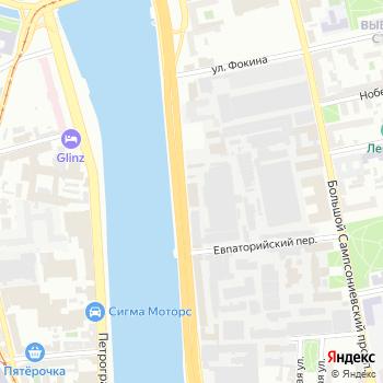 Истрем Клипсо на Яндекс.Картах