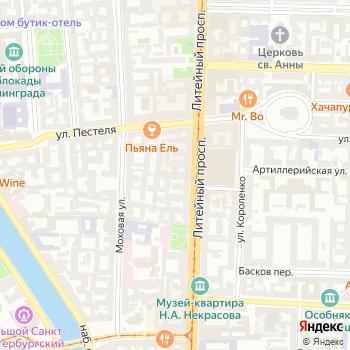 Почта с индексом 191028 на Яндекс.Картах