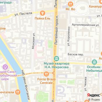 Департамент Федеральной службы по надзору в сфере природопользования по Северо-Западному федеральному округу на Яндекс.Картах