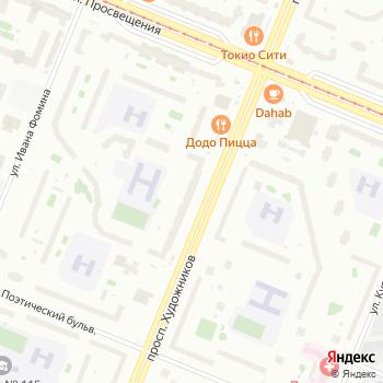 Почта с индексом 194295 на Яндекс.Картах