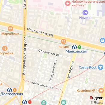 Почта с индексом 191193 на Яндекс.Картах