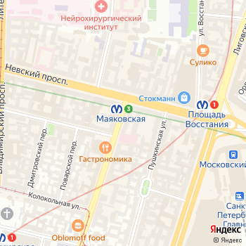 Путёвочка на Яндекс.Картах