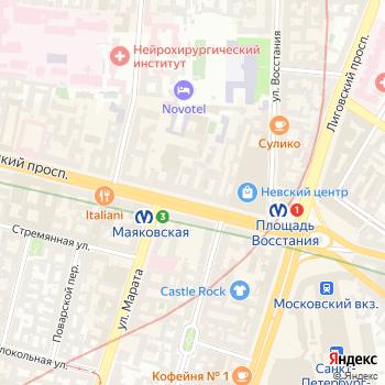 Топ Трипс на Яндекс.Картах