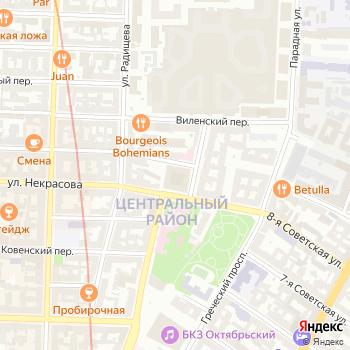 Магазин бижутерии на Некрасова на Яндекс.Картах