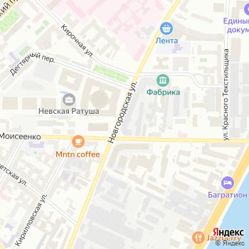 Феникс СГ на Яндекс.Картах