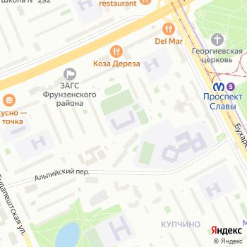 Средняя общеобразовательная школа №310 на Яндекс.Картах