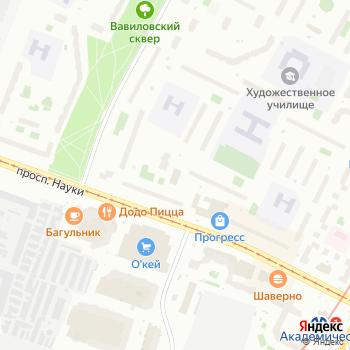 Восток на Яндекс.Картах
