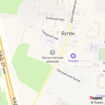 Воскресная школа на Яндекс.Картах