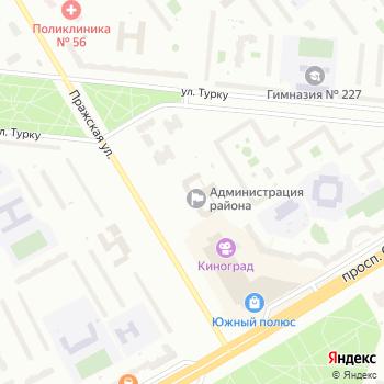 Прокуратура Фрунзенского района на Яндекс.Картах