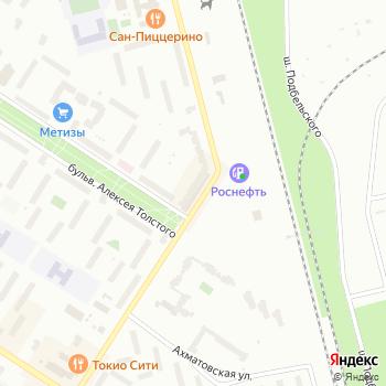 Акванта на Яндекс.Картах