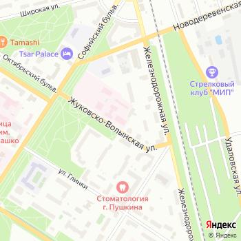 Детское село на Яндекс.Картах