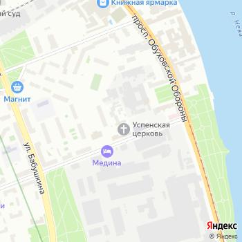 Отдел Военного комиссариата г. Санкт-Петербурга на Яндекс.Картах