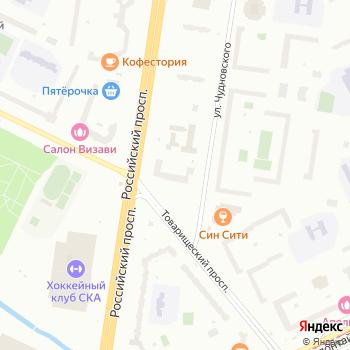 Фиалка на Яндекс.Картах