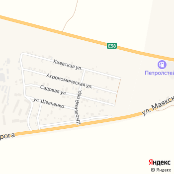 Хлебодарский на Яндекс.Картах